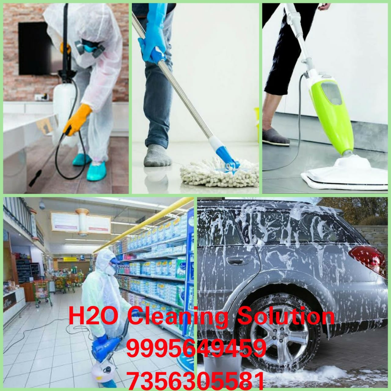 H2O Cleaning Solution - Best...